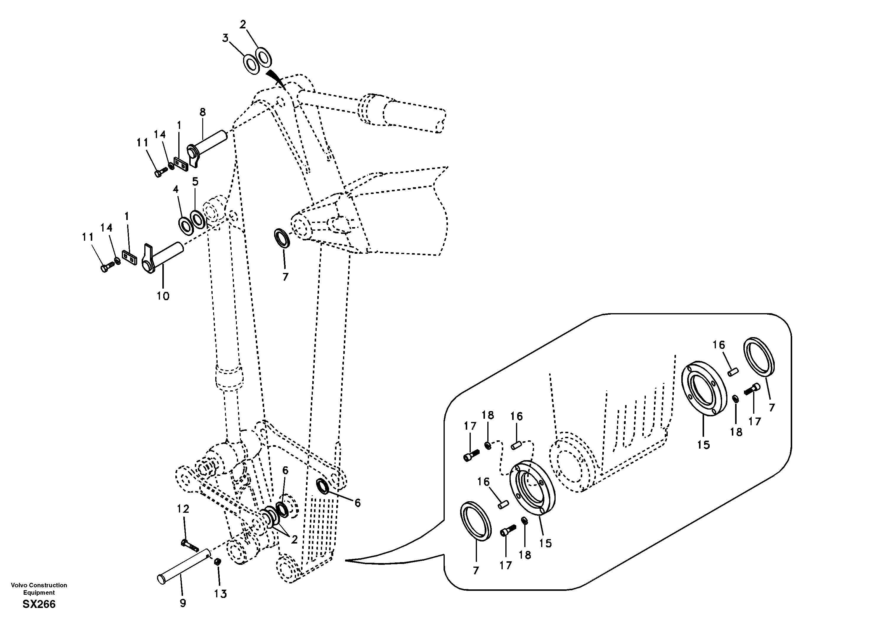 ekskavator-arm-piston