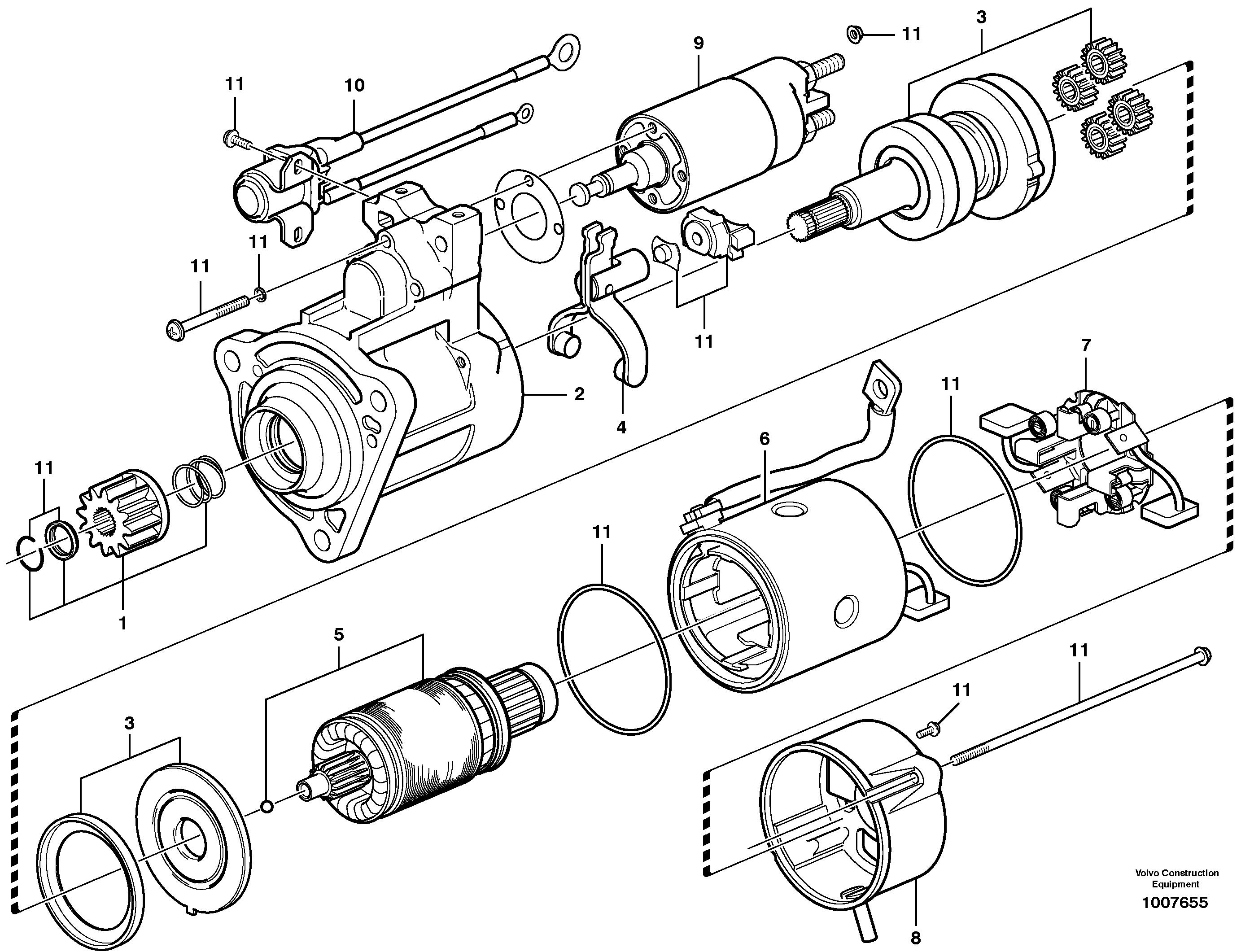 ekskavator-mars-motoru