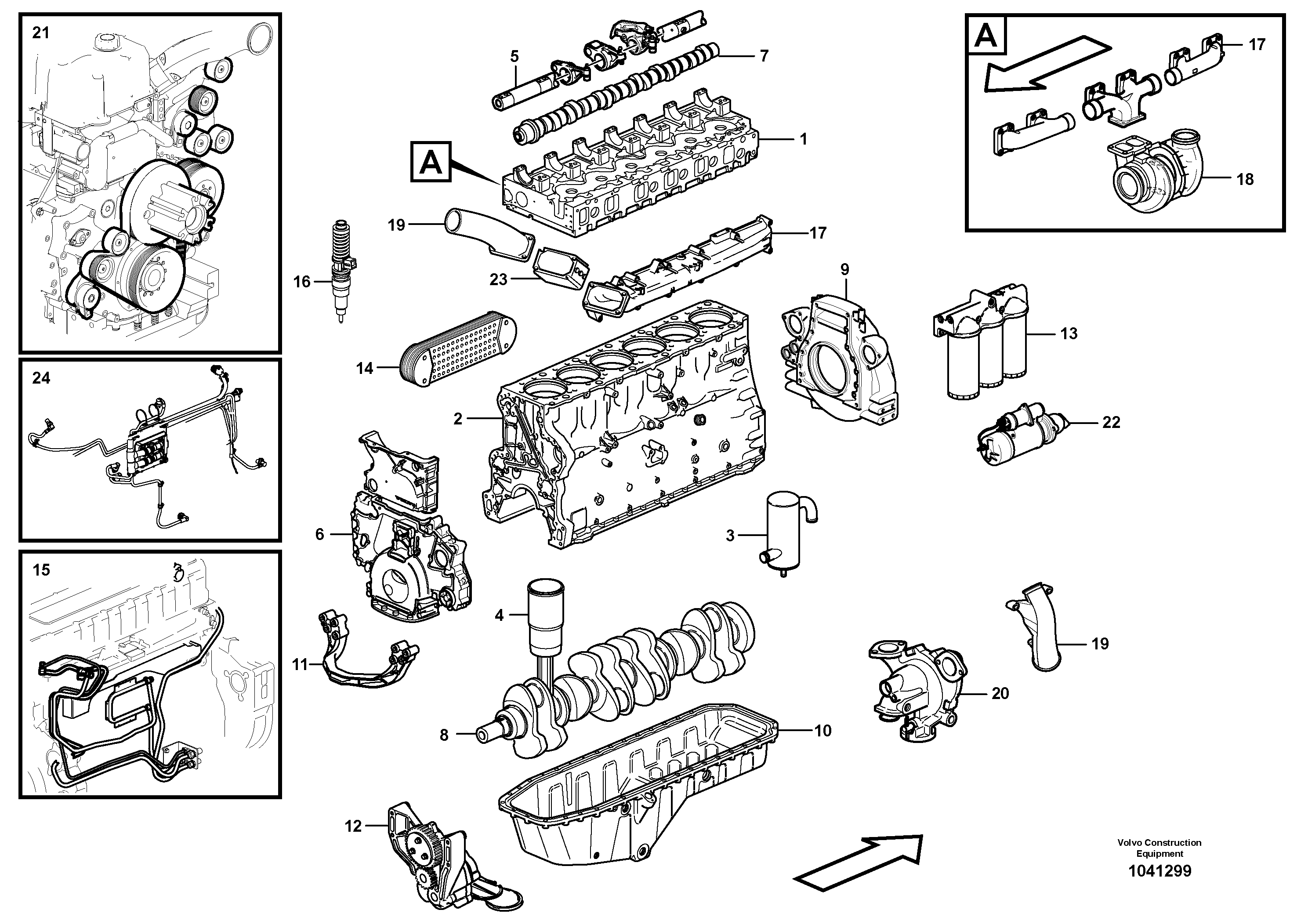 ekskavator-motor