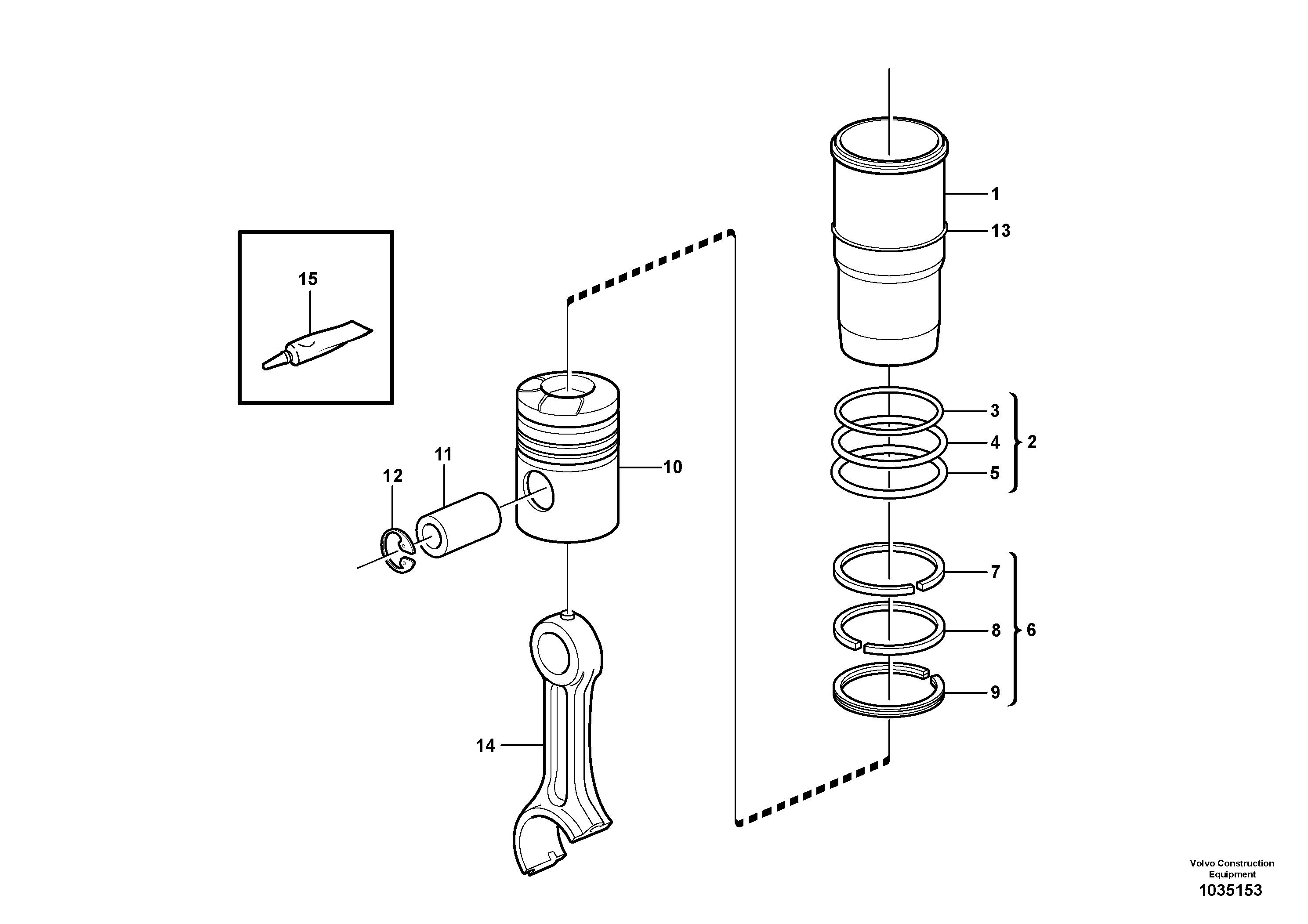 ekskavator-piston