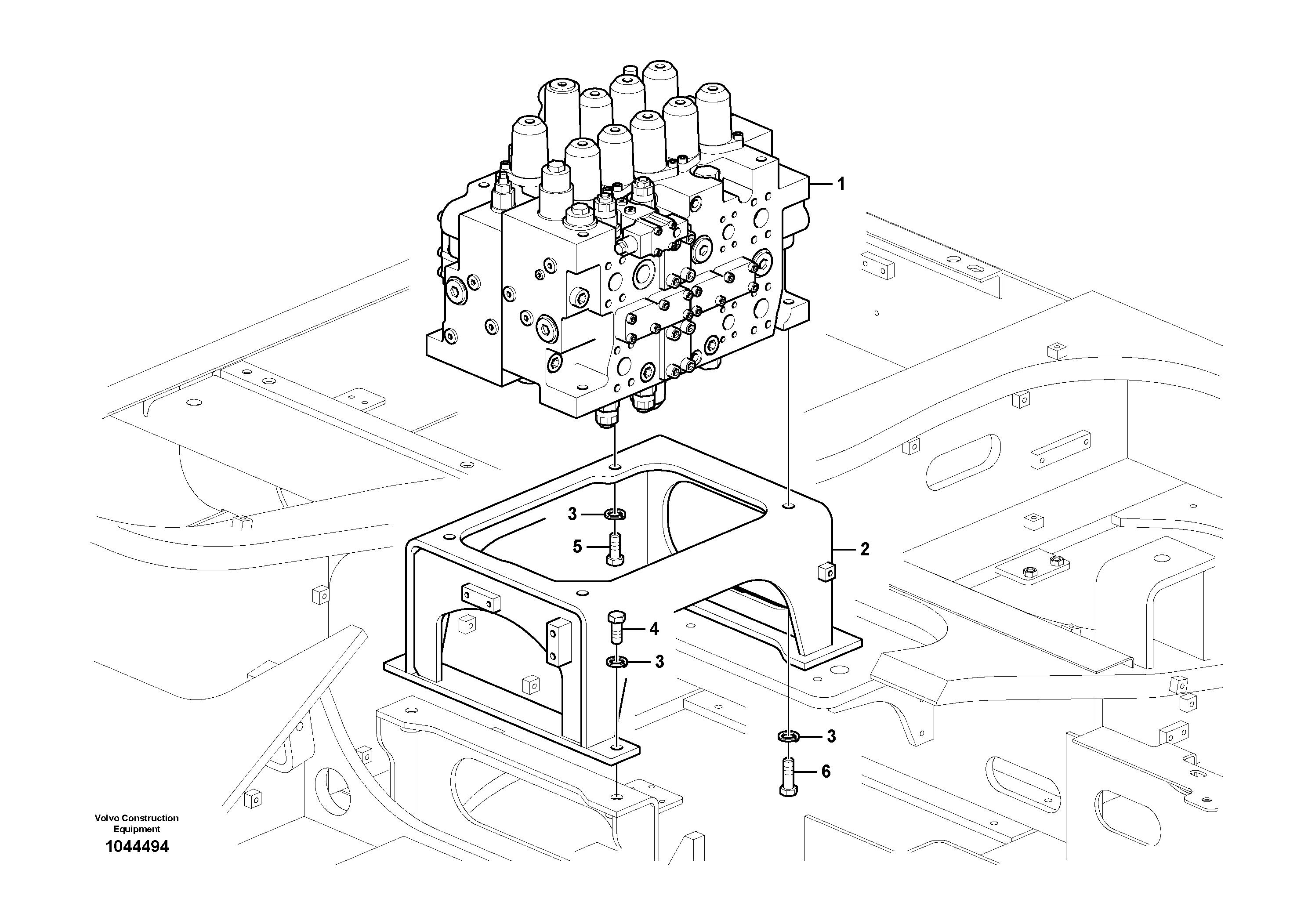 ekskavator-valf