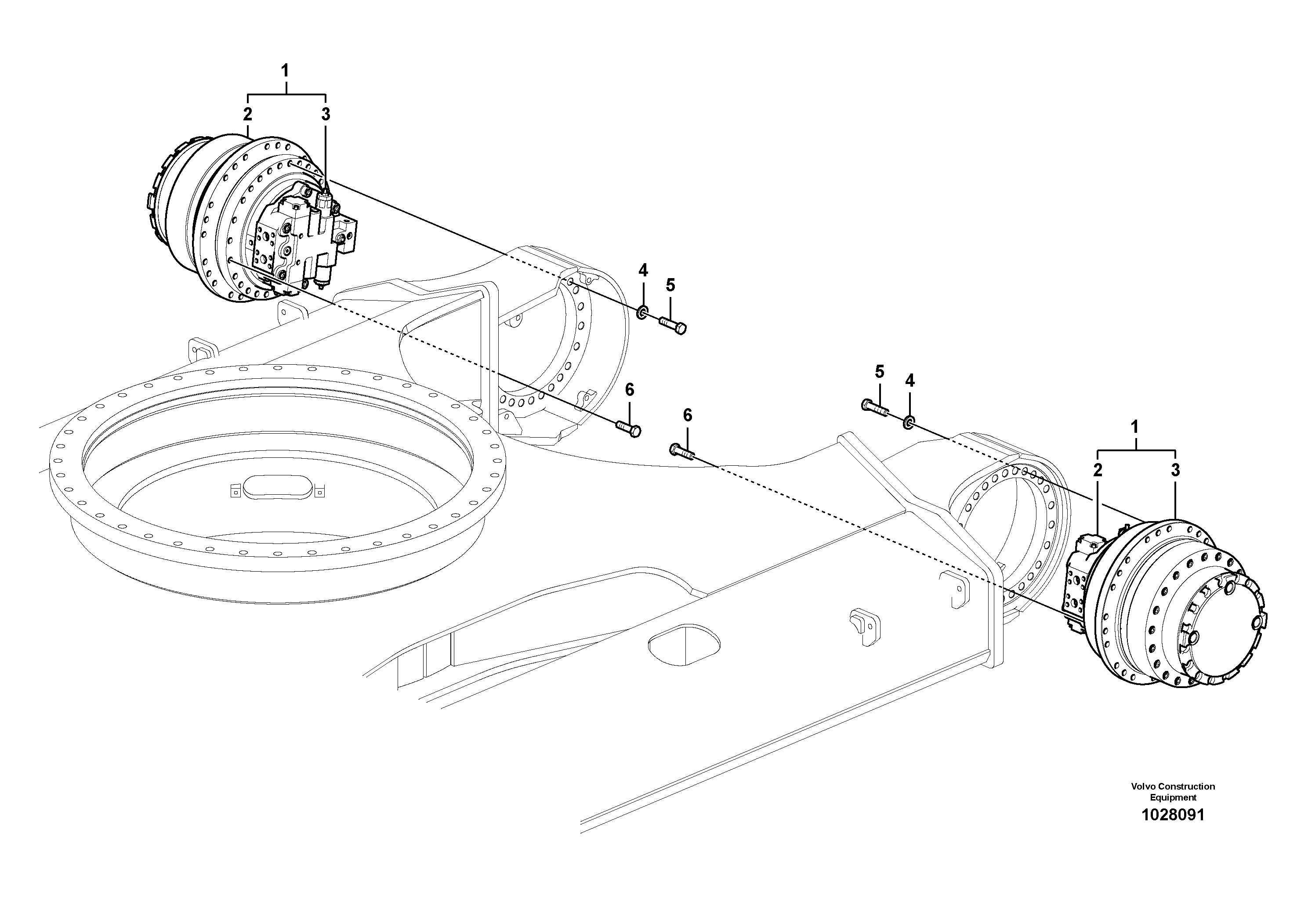 ekskavator-yuruyus-motoru